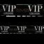 Fête Absperrband VIP Lounge 6 cm x 10 km LONG NOIR avec gold ornement