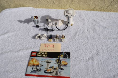 LEGO 7749 Star Wars Echo Base 100/% Complete FAST SHIPPING !