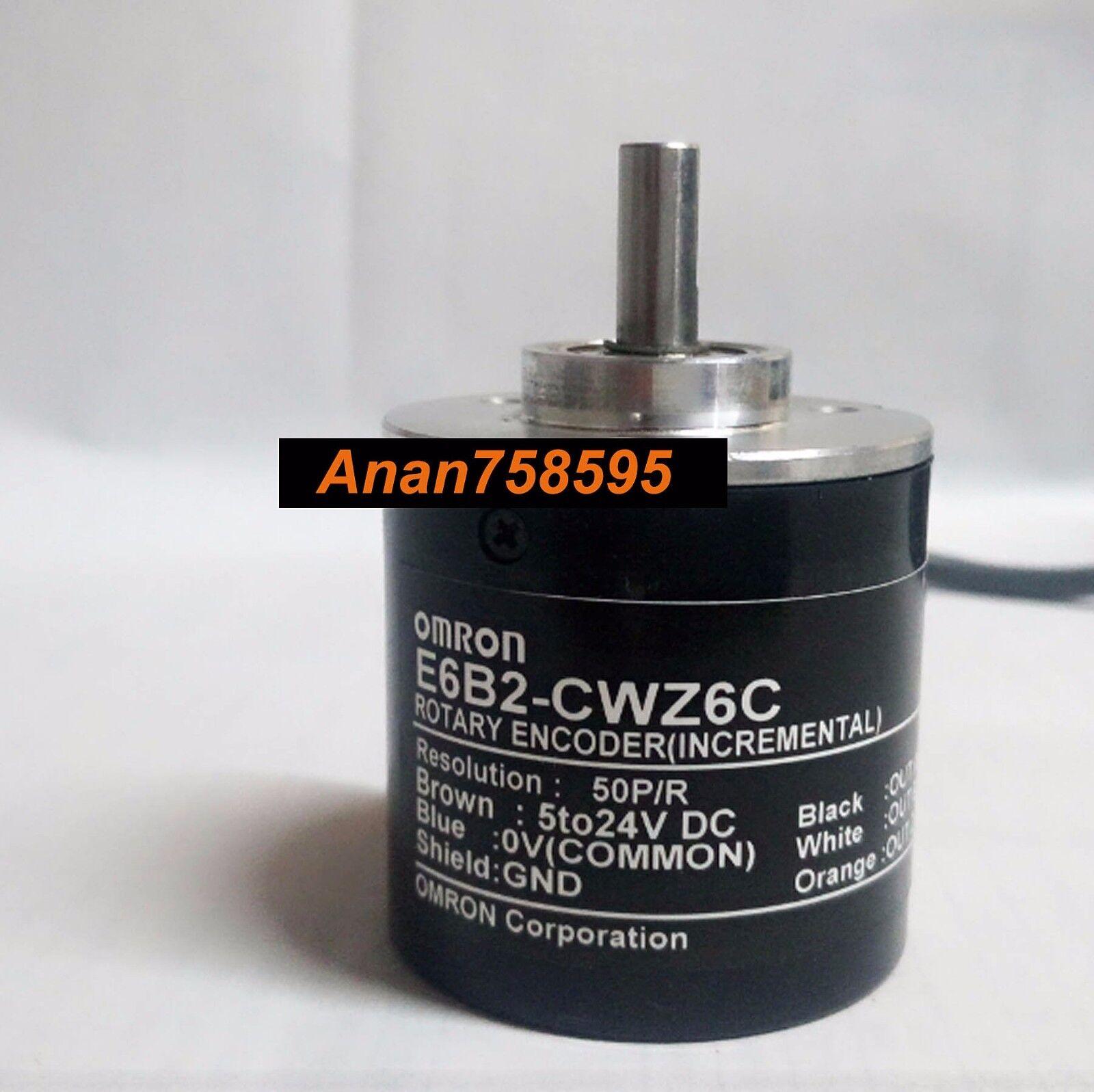 1x Omron 360P incremental Codificador Rotatorio 360p//r 12 ~ 24 V DC E6B2-CWZ5B PNP