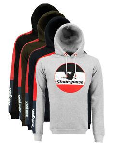 Felpa-Stone-Goose-Fast-maglia-Uomo-Men-tascone-sweatshirt-cappuccio-hood-manica