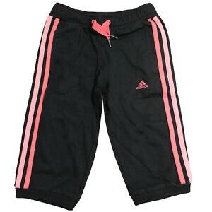 Détails sur Adidas Sports Ess 3 Bande Bas Survêtement Jogging Enfants Jeunes G81215 DD13