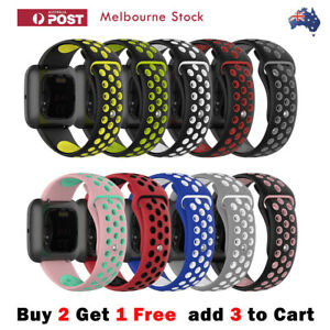 Sport-Silicone-Bicolor-Band-for-Fitbit-Versa-2-1-Lite-amp-Blaze-Replacement-Straps