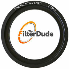 FilterDude 77mm LEE Compatible Wide Angle Adapter Ring for Filter Holder
