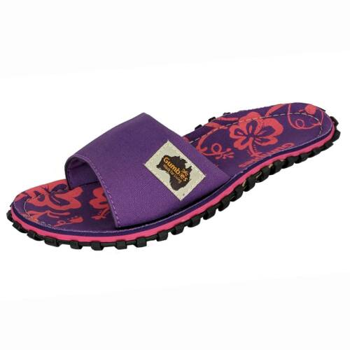 Gumbies Summer Sliders Islander Women/'s Canvas Slippers Purple G-SL-WN-PUHIB