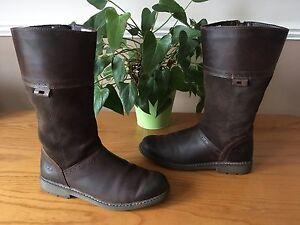 37 la rodilla Uk de cuero 4 botas Earthkeepers Eu ante Timberland Damas hasta marrón qTgO8