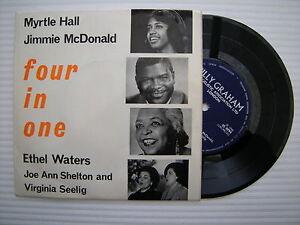 Myrtle-Hall-Jimmie-Mcdonald-Ethel-Waters-Ecc-Four-in-One-BG-102-Raro-17-8cm