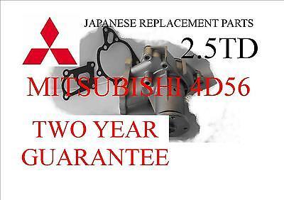 Water Pump Mitsubishi 4D56  2.5TD 2.5 L200 Delica Pajero Shogun1993-2003 MK2