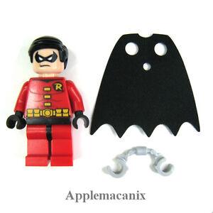 LEGO DC Universe Super Heroes 6860 Robin Minifigure NEW