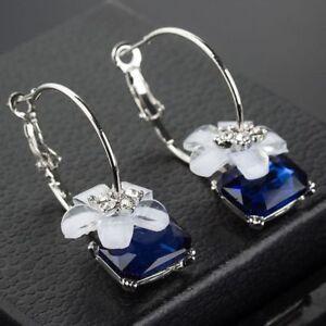 Women Wedding Charm Boho Vintage Dreamcatcher Drop Dangle Hook Earrings Jewelry