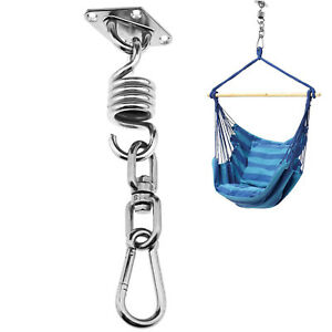 Fitness Equipments Accessories 2019 Latest Design Hammock Chair Fixing Hanging Chair Hardware Kit Swivel Snap Hook Ceiling Mount Spring Swing Hook Kit