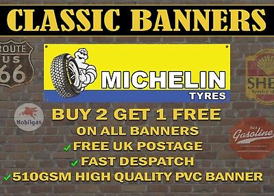 VINTAGE SIGN DESIGNS Goodyear Tyres premium quality PVC garage//workshop banner