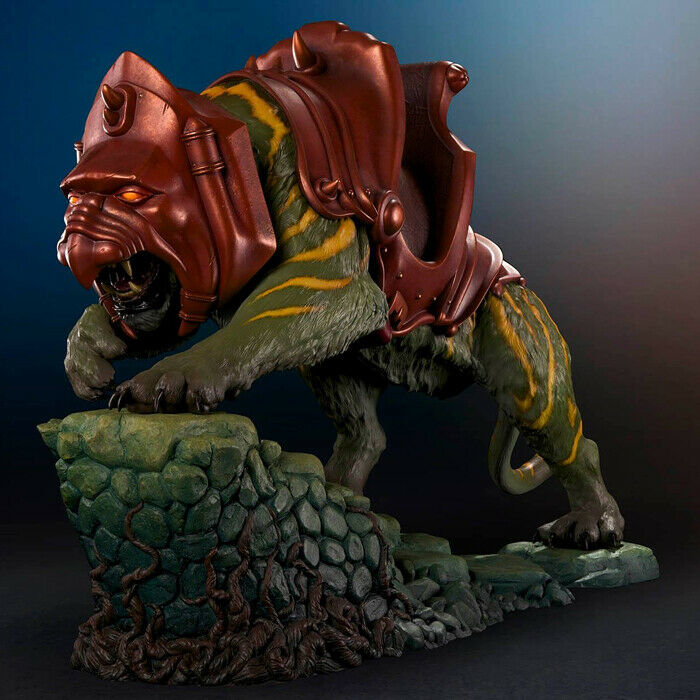 Masters Of The Universe - BaGröße Cat 1 4 Polystone Statue Pop Culture Shock