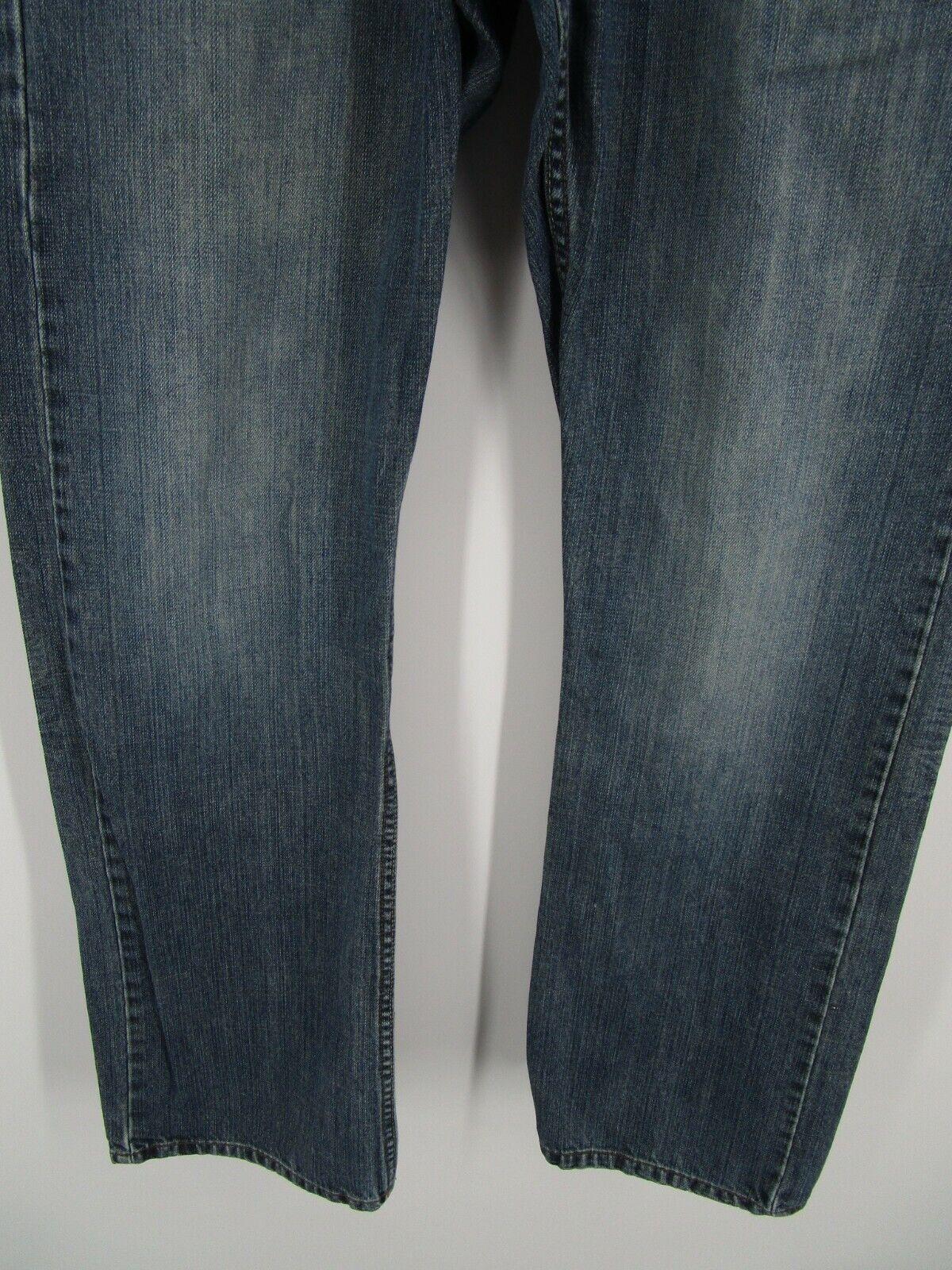 Lee Dungarees Men Size 31X32 Retro Y2K Blue Relax… - image 3