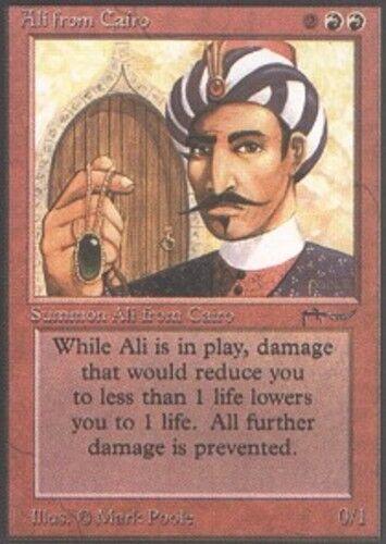 1x Ali Ali Ali from Cairo Arabian Nights Light Play, English MTG 57e3dc