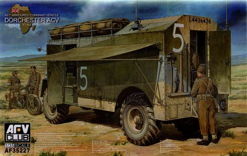 AFV Club 1 35 AEC Dorchester 4x4 ACV (Full Interior)