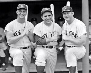 Mantle-Maris-Berra-Photo-8X10-New-York-Yankees-Bronx-Buy-Any-2-Get-1-FREE
