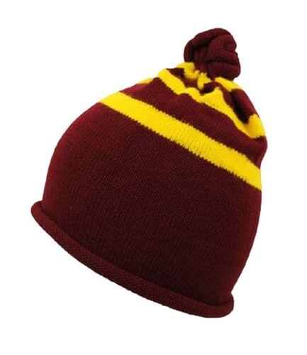 Harry Potter Yellow STRIPE Griffindor Fancy Dress Scarf Tie Socks Hat Glasses