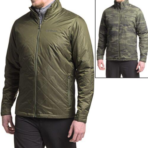 New Men`s Columbia Half Life Omni-Heat Reversible Insulated Jacket 16193