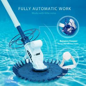 Details about VIVOHOME In Ground Automatic Swimming Pool Vacuum Cleaner Spa  Pond Sweeper Kit