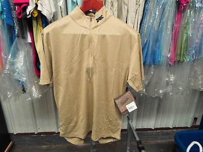 New Tan ZOIC Downieville X-Static Short Sleeve Jersey...Men/'s Medium