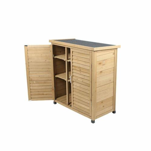 Holz-Gartenschrank Honey 87x96x47cm