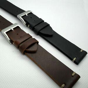 bracelet cuir vintage 22mm