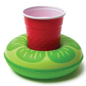 Inflatable-Floating-Drink-Can-Cup-Holder-Swimming-Pool-Flamingo-Unicorn-Fun-20c
