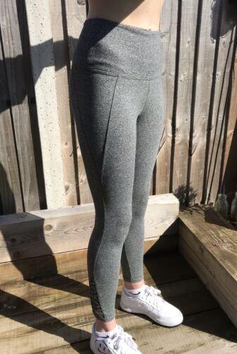 Victoria's Secret PINK 7//8 Grey Ankle Legging Size Medium RRP £39.99 Free Post