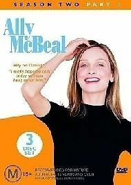 ALLY MCBEAL Season Two Part 1 [3 DVD Set ] Comedy TV SHOW [ Series 2 Part One ]