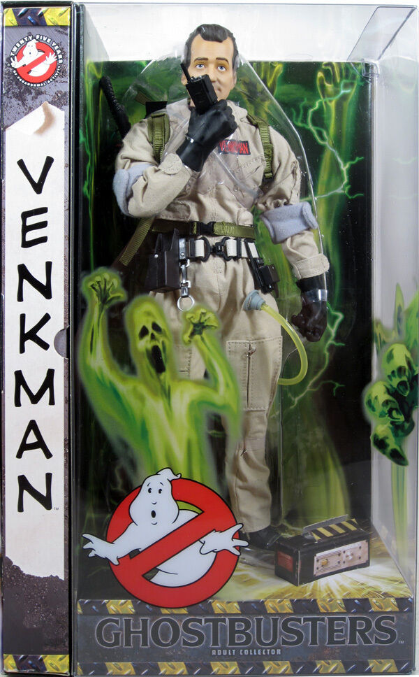 Ghostbusters Perter Venkman  12  Nuovo Sealed By Mattel