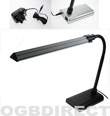 Energy Saving Desktop Table Study Lamp Light LED Strip Flexible Arm OnOff Switch