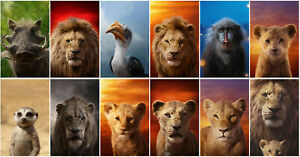 Details About The Lion King Movie 2019 Transparent Pvc Promo Card Poster Card Collect I8723we