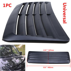 2x Universal Car Outlet decorative Air Flow Intake hood Scoop Vent Bonnet Cover