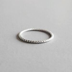 Schmaler-Damen-Ring-mit-Struktur-echt-Sterling-Silber-925-duenn-48-55