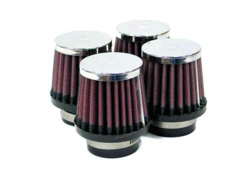 "RC-2294 K/&N Universal Chrome Air Filter 1-9//16/""FLG,2-5//8/""B,2/""T,3/""H 4 PER BOX"