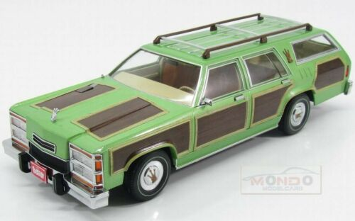 Ford Usa Country Squire 1983 Nat.Lampoon/'S Vacation Greenlight 1:18 GREEN19013 M
