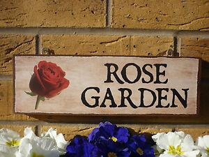 secret garden signs, personalised rose garden sign secret garden gifts for gardeners, Design ideen