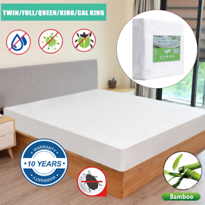 Bamboo-mattress-coverm-mattress-cover-queen-mattress-protector-Hypoallergenic
