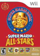 Super Mario All-Stars 25th Anniversary Edition (Nintendo, Wii 2016) - Complete