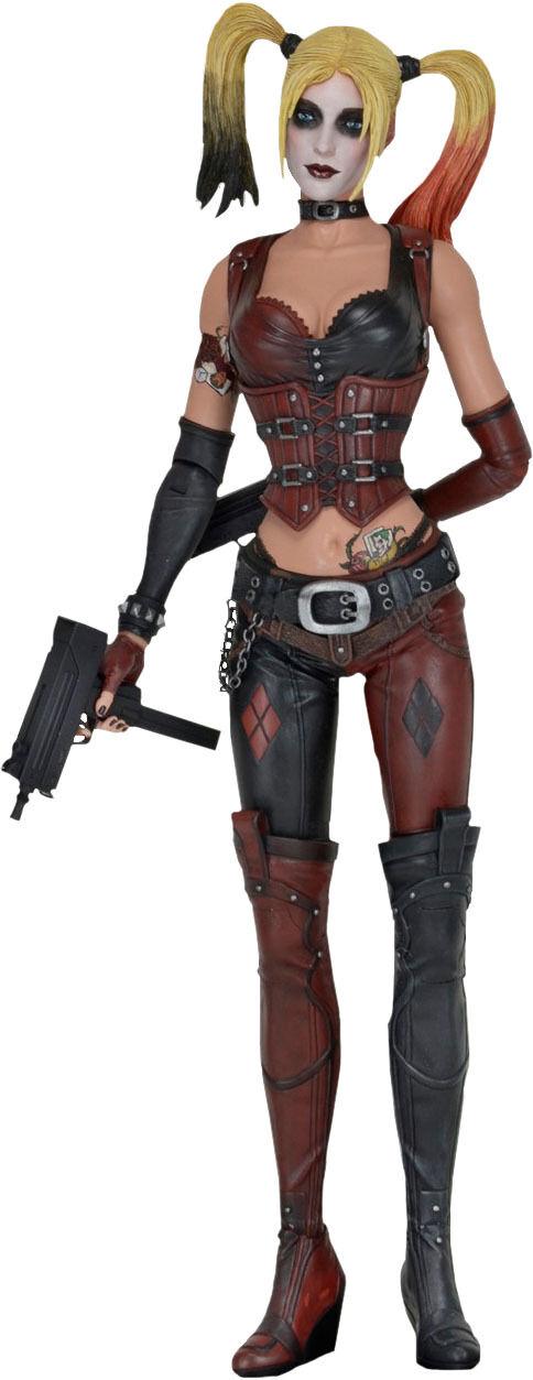 BATMAN  Arkham City - Harley Quinn 1 4 Scale Action Figure (NECA)  NEW