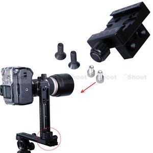 Klammer-Clamp-Anschluesse-fuer-Arca-Swiss-Kamera-Stativ-Stativkopf-Kameraplatte