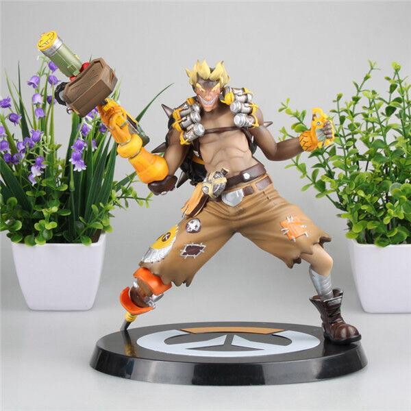 Overwatch OW Junkrat Jamison Fawes PVC Statue Action Figure NO BOX