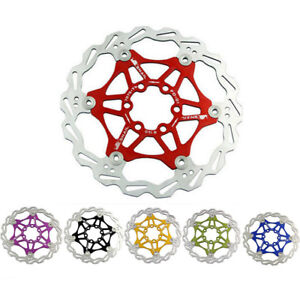 Floating Rotor 160//180mm Stainless Steel Mountain Bike Brake Rotors 6 Bolt 1PC