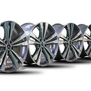 Mercedes-19-Zoll-Felgen-S-Klasse-W222-W217-A2224011302-A2224011402-Alufelgen-NEU