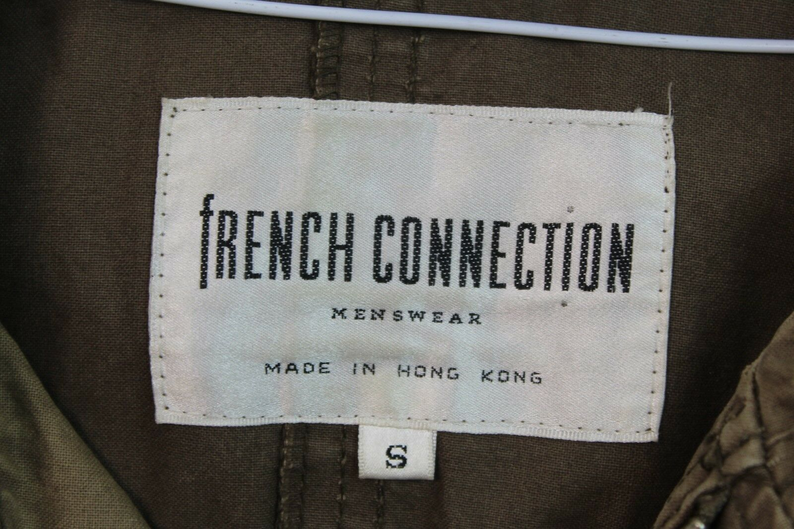 Homme S French Connection Manteau Marron Taille S Homme No.Y657 11/9 1f0634