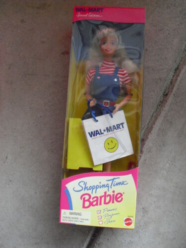 1997 Mattel Walmart Shopping Time Barbie Doll 18230 MIB LOOK
