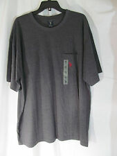 NWT Men's U.S. Polo Assn. Charcoal Gray short Sleeve T-Shirt Size 2XL