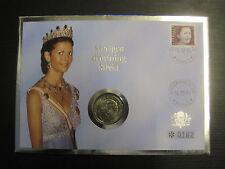 Numisbrief Monarchen, gekrönte Häupter Europas, Schweden  #809
