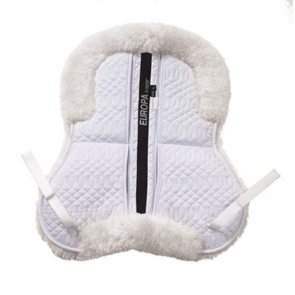 Europa de piel de oveja Vari-Shim Media Pad para sillas de montar inglés con espuma de memoria