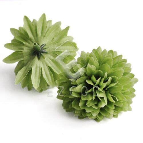 20stk.50mm Künstliche Daisy Blütenköpfe Kunstblume Gerbera Großhandel HS20